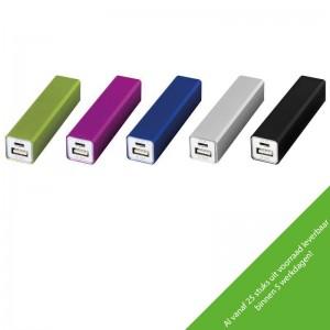 Powerbank aluminium 2200mAh